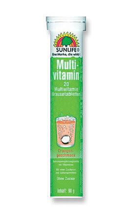 Sunlife Multivitamin pezsgőtabletták 20db