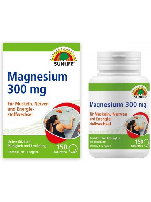 Sunlife Magnézium 300 tabletták 150db