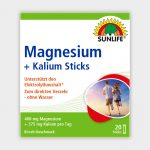 Sunlife Magnézium + Kálium Sticks 20db