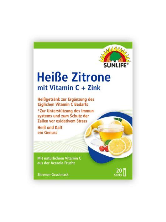 Sunlife Forró citrom italpor 20db