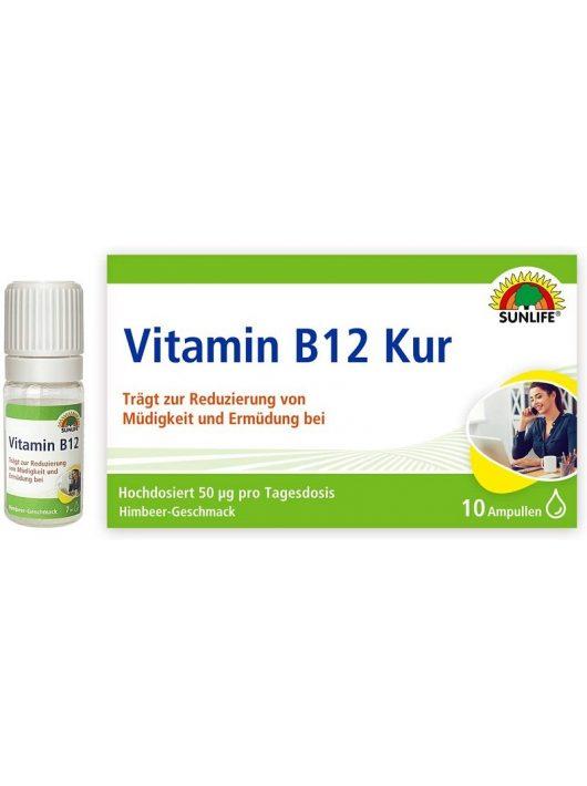 Sunlife Vitamin B12 kétfázisú folyadék 70ml