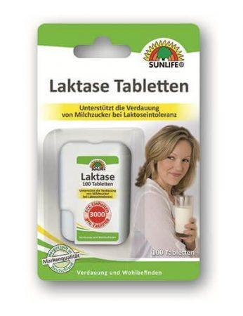 Sunlife Laktáz tabletták 100db