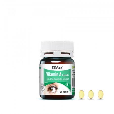 revoMed A-vitamin kapszula 120db
