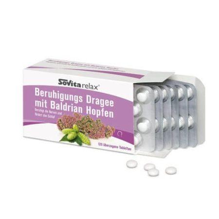 Sovita Macskagyökér 120db tabletta