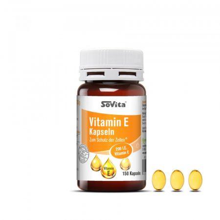 revoMed E-vitamin kapszulák 150db