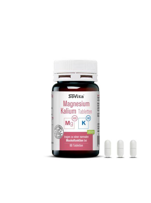 Sovita active Magnézium plusz Kálium tabletták 60db