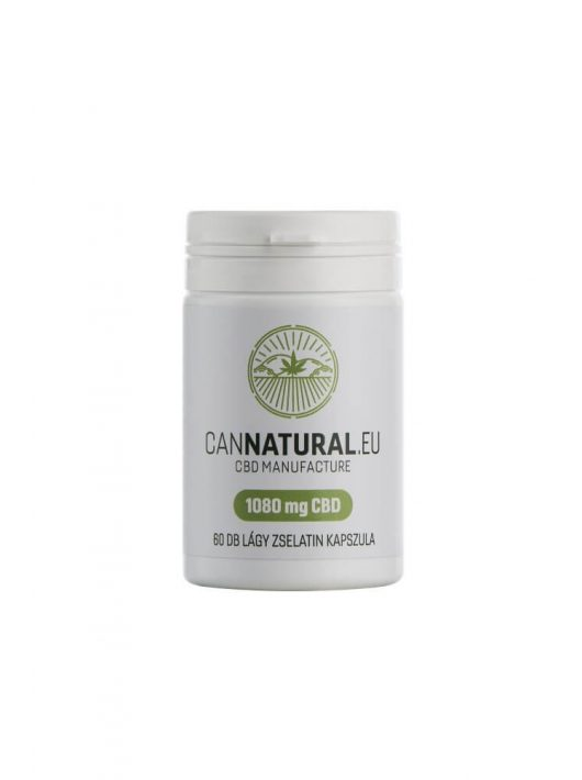 Cannatural CBD kapszula 1080 mg 60 db