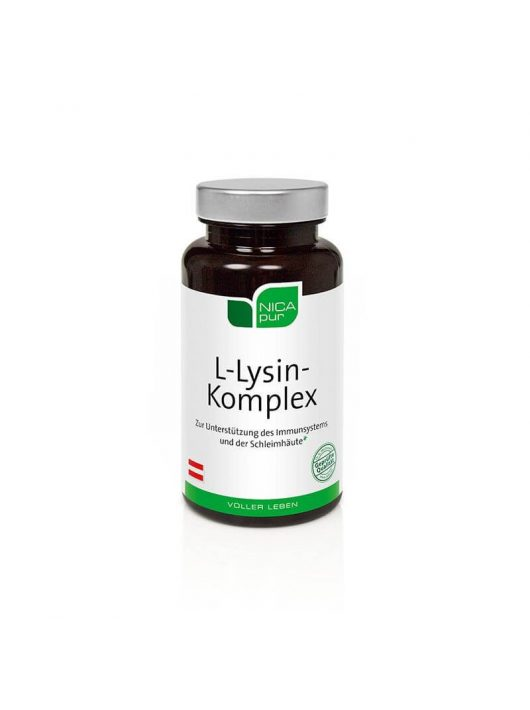 NICApur L-Lysin Komplex kapszulák 60 db